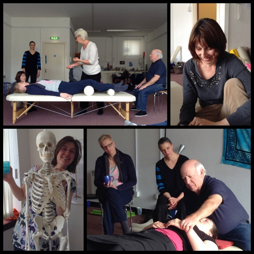 photo by Alison McGillivray. Glasgow May 2015 Feldenkrais postgraduate practitioner training. Paul Rubin and Julie Casson Rubin