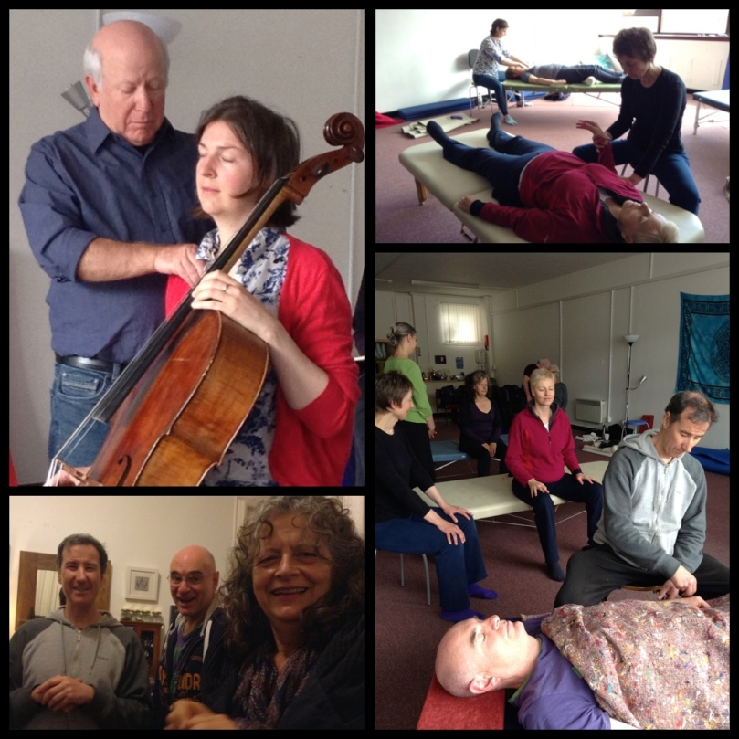 photos by Alison McGIllivray & Emily Walker. Feldenkrais Glasgow postgraduate practitioner training May 2015