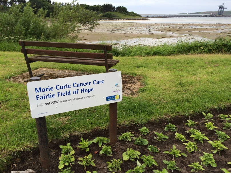 Marie Curie Field of Hope, Fairlie, Ayrshire, Scotland